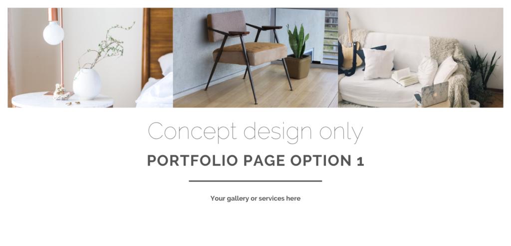 Portfolio option 1