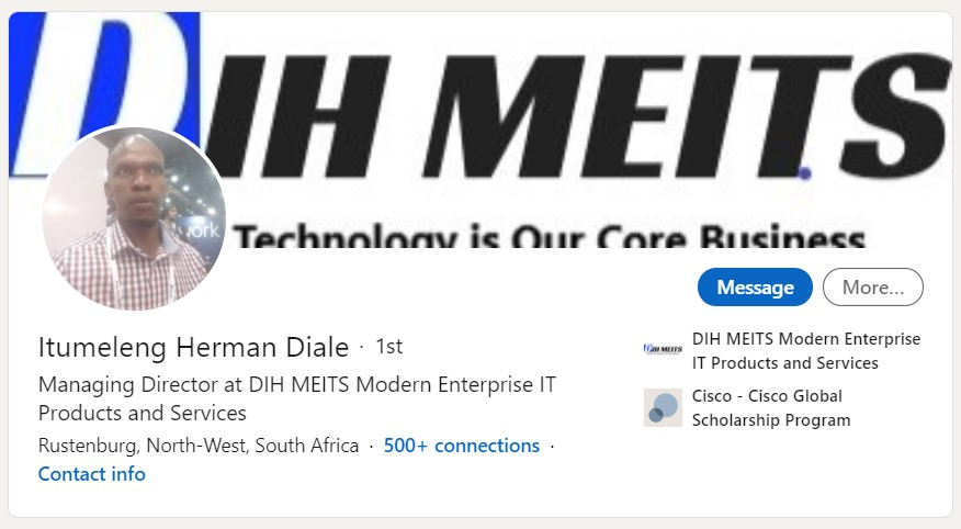 Itumeleng Herman Diale